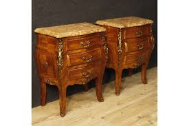 marble top bedside table pair of french bedside tables in rosewood with marble top vinterior