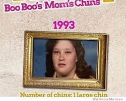 Honey Boo Boo Meme - the evolution of honey boo boo s mom s chins meme collection