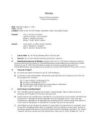 board meeting minutes template word 6 best agenda templates