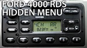 how to enter renault radio hidden menu and tests clio megan