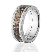 Camo Wedding Rings by Realtree Ap Camo Bands Tree Bark Camouflage Wedding Ring Camo