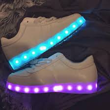 where can i buy light up shoes shoes sneakers blue purple glow in the dark white sneakers