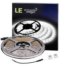 amazon com le 16 4ft waterproof flexible led light strip 300