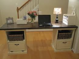 Diy Desk With File Cabinets by Ana White Modular Desk Diy Projects