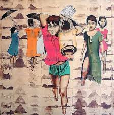 buy painting child labor artwork no 1845 by indian artist chinmoy