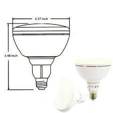 48 inch led light bulb ul listed dimmable led br40 bulb 18w br40 light bulb torchstar