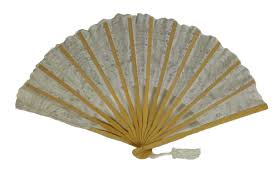 lace fans white lace cotton fan
