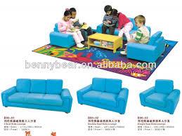 Single Seater Couch For Sale Kindergarten Children Sofa Series Lion Print Kids Single Sofa