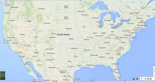 Us Political Map Us Political Map Google Usa Map Google 6 Google Maps Of The United