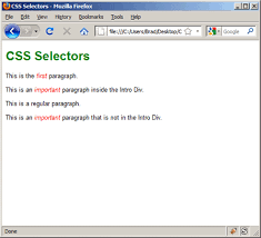 css tutorial pdf for dummies css lesson 3 basic css selectors learnwebcode