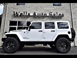 jeep wrangler 4 door white used sold cars for sale warrenton va 20186 wells auto sales