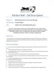 resume cook job duties resume resume outlines examples cook job