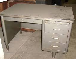 Metal Office Desks Brilliant Metal Office Desk All About Props Office Furniture For