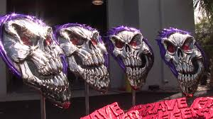Spectra Chrome Sema 2012 Grave Digger 30th 3d Youtube