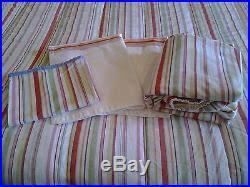 Comforter Sets Made In Usa Rare 5 Piece Ralph Lauren Harbor View Stripes Queen Comforter