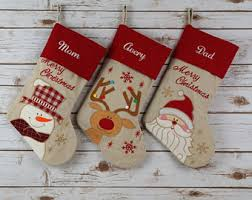 christmas personalized embroidered christmas chritsmas decor