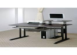 small black desks black desks julia desk black ash veneer denise austin home