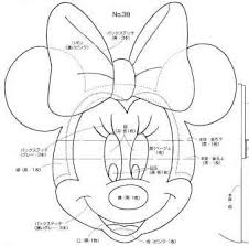 minnie mouse template templates for cakes pinterest minnie