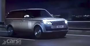 land rover 2018 2018 range rover update leaked on video cars uk