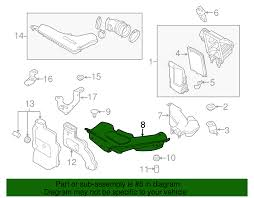 nissan rogue canada invoice price genuine nissan rogue air duct 16554 4cl0a