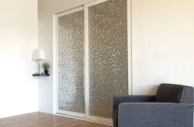 sliding closet doors layered glass