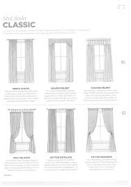 classic window treatment drawings decor window treatments