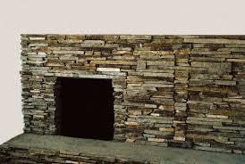 installing stone veneer fireplace surround using thin natural