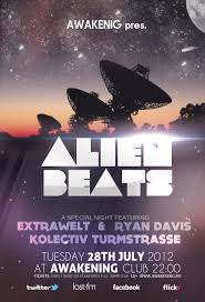alien beats flyer template by dusskdeejay on deviantart