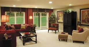 Burgundy Living Room Curtains Burgundy And Tan Living Room Living Room Traditional With