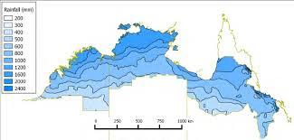 australian bureau meteorology figure 2 annual average rainfall in the monsoonal source of