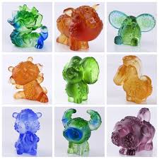 the new ram zodiac zodiac small glass ornaments sheep
