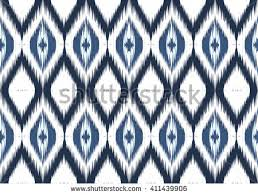 geometric ethnic oriental ikat pattern traditional stock vector