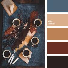 good colour schemes a rust inspired color palette silver metal rust and steel
