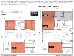 space saving floor plans making apartments work harder the 3rd bedroom challenge michael