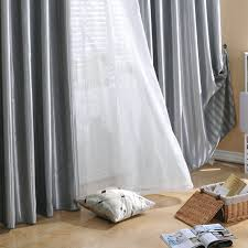 Lined Grey Curtains Classic Lined Blackout Heavy Grey Curtains Buy Grey Blackout