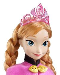amazon com disney frozen sparkle anna of arendelle doll toys u0026 games