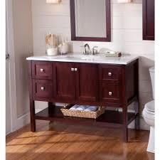 St Paul Bathroom Vanities St Paul Sydney 48 1 2 In Vanity In Cherry With