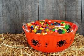 isolated bowl halloween candy stock photo picture and royalty