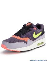 colour purple cut price cd429128 nike air max 1 essential trainers mens
