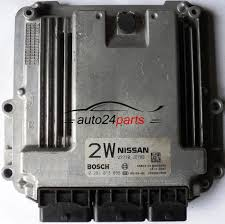nissan qashqai yellow engine light ecu engine controller nissan qashqai 2 0 dci bosch 0281013855 0