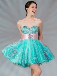 dual color short prom dress sung boutique l a