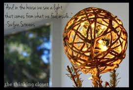 Diy Christmas Tree Topper Ideas D I Y Twine Ball Tree Topper U2014 The Thinking Closet
