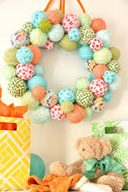 how to make an easter egg wreath 40 diy easter wreaths