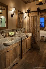 Rustic Bathroom Vanity Cabinets by Best 20 Rustic Bathroom Sinks Ideas On Pinterest Rustic