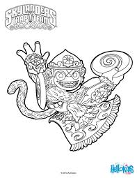 fling kong coloring pages hellokids com
