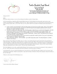 Fundraising Letter Example by Example Of A Letter Accompanying A Donation Free Donation Letter