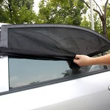 l shades by size professional adjustable auto car side rear window sun shade black