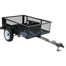 carry on trailer 2 000 lbs gvwr 3 ft 6 in x 5 ft wire mesh utility