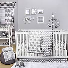 Elephant Bedding For Cribs The Peanut Shell Elephant Crib Bedding Collection In Grey