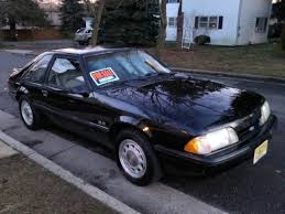 All Black Mustang 5 0 1988 Black Mustang 5 0l 5 Speed New 2012 Sticker No Rust Ford